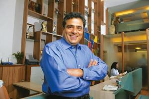 Luck by chance? Ronnie Screwvala says UTV's success is due to lucky timing. Abhijit Bhatlekar / Mint