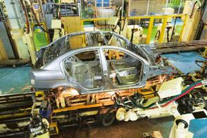 Crunch time: A Hyundai Motor India Ltd unit in Tamil Nadu. Madhu Kapparath / Mint