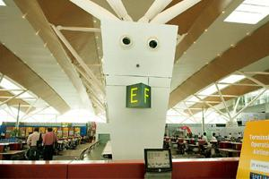 Joint operation: The new terminal 1D at New Delhi's IGI Airport. Ramesh Pathania / Mint