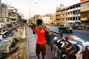 City beats: Much of the book's backdrop is Grant Road, Mumbai. Ashesh Shah / Mint