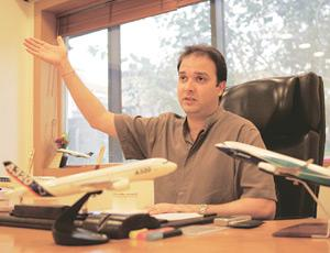 Innovating: Jeh Wadia says it's time for GoAir to rebrand its look and feel to reflect a more formal undertone.  Hindustan Times