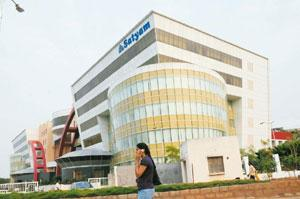 'Re-energizing programme': Satyam's headquarters in Hyderabad. Bharath Sai / Mint