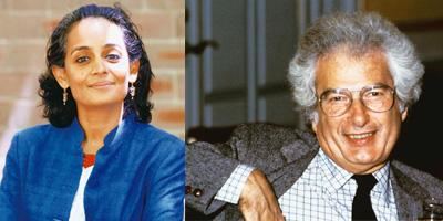 Following up: (left – Rick Rycroft/AP) Arundhati Roy recently said she has begun working on her second novel; and Joseph Heller could never recreate the magic of his debut Catch-22. AFP