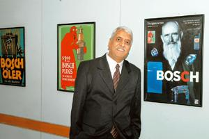Growth engine: Viswanathan says Bosch is leaning more on innovations as it copes with the downturn. India Today
