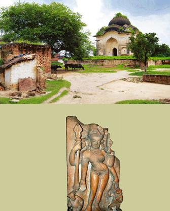 Confluence: Kannauj has been won and lost many times by overlords; and an idol in the archaeological museum. Photographs: Chitralekha Basu