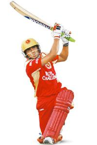 Switch hit: Pandey was picked by the Royal Challengers after being dropped by the Mumbai Indians.