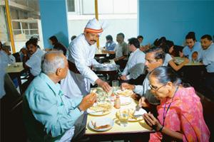 Back again: Indian Coffe House reopened to a full house. Hemant Mishra / Mint