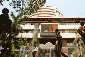 Strong performance: The Bombay Stock Exchange's Sensex index rose 2.3% to close at 14,625.25 on Friday, a level last seen in September. Punit Paranjpe / Reuters