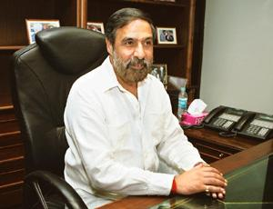 Positive take: Commerce and industry minister Anand Sharma has said even a flat export growth this year would be an achievement. Pankaj Nangia / Bloomberg