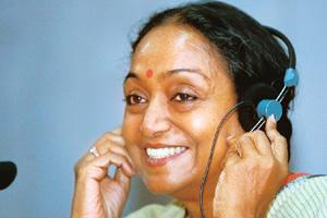 Presiding officer: Meira Kumar describes her appointment as the Lok Sabha Speaker as a historic moment in India's politics. B. Mathur / Reuters