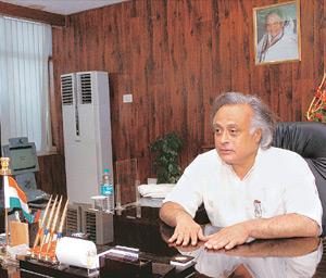 Domestic perspective: Environment and forests minister Jairam Ramesh says climate change is not an issue for India because of some international forum, but due to local development imperatives and dim