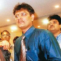 Barred: A file photo of Ketan Parekh. Sebi had on 12 December 2003 debarred Parekh from dealing in the markets for 14 years.