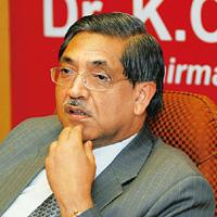 It's official: PNB chairman and MD K.C. Chakrabarty. Ramesh Pathania / Mint