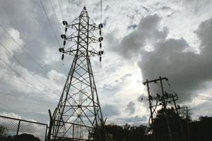 Building capital: A power supply tower line. PowerGrid is planning to raise Rs2,500 crore via two bond issues—in Oct-Nov and Jan-Feb. Hemant Mishra / Mint