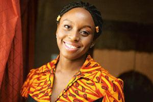 Young voice: The new novel by Adichie, 32, is about the dynamics of marriage and family. Bloomberg