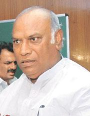 New plan:Labour and employment minister Mallikarjun Kharge. PIB