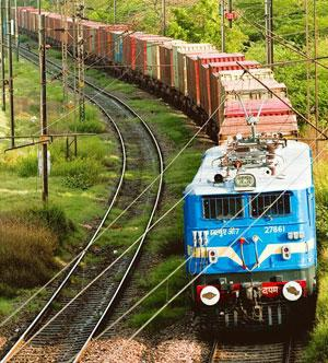 Rising expenses: Container train operators have to pay rail haulage charges to the Indian Railways for using its track, signalling and telecommunications infrastructure. Ramesh Pathania / Mint