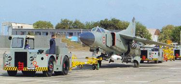Other uses: A file photo of a MiG-23 at the air force base in Jamnagar, Gujarat. The average lifespan of such a fighter jet is three decades. UNI