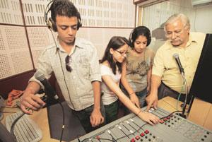 Airing views: The Indian Institute of Mass Communication's community radio, Apna Radio, gives students the opportunity to work on live projects. Harikrishna Katragadda / Mint