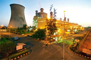 Building assets: An NTPC plant in Kawas. The company plans to ramp up its power generation capacity up to 50,000MW by 2012.