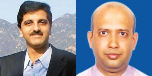 Deepak Malkani (left) and Jayesh Pandey.