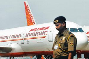 Violation of rules: Air India introduced the scheme in 1996 to prevent the exodus of employees to other airlines. Indranil Mukherjee / AFP