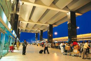 Pruning plans: The Bengaluru International Airport. The consortium that runs it has halved capital expenditure plans for this financial year. Hemant Mishra / Mint