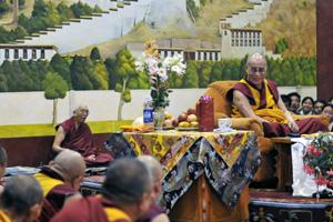 The residents of Majnu ka Tilla plan a small celebration on 6 July, the birth anniversary of the Dalai Lama.