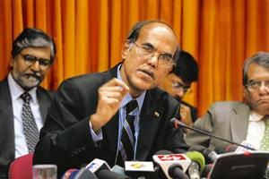 Fine balance: Reserve Bank of India governor D. Subbarao at a press conference in Mumbai in January. Since September, the bank released some Rs4.22 trillion into the system to help push the economy ba