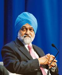 Policy view: Planning Commission deputy chairman Montek Singh Ahluwalia says the Budget has a clear sense of direction. Adam Berry / Bloomberg