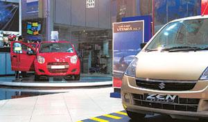 Healthy signs: Companies sold 107,531 cars in June, compared with 99,741 a year earlier. Ramesh Pathania / Mint