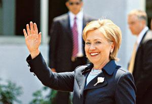 Mending relations: US secretary of state Hillary Clinton, in her first policy address on India on 17 June, said the two nations will have to confront and transcend the mistrust that has hampered past