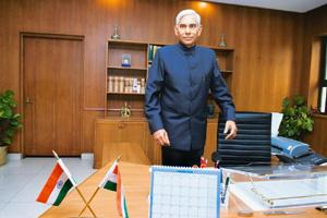 Independent verification: Comptroller and auditor general of India Vinod Rai says surprise inspections of NREGS should be carried out. Madhu Kapparath / Mint