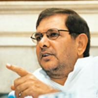 Leading the charge: Sharad Yadav. S. Burmaula / Hindustan Times