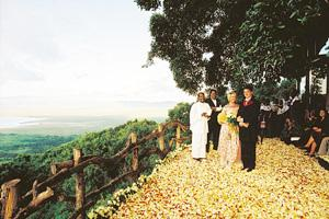 Happily ever after: A wedding at the Ngorongoro Crater rim. &Beyond