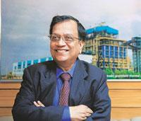 Stiff competition: Bhel chairman and managing director K. Ravi Kumar. Sanjit Das / Bloomberg