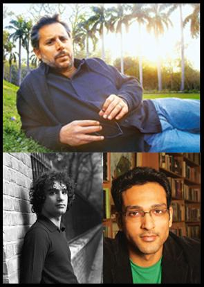 Fresh blood: (clockwise from top) Mueenuddin at Lodhi Garden, Delhi (Mayank Austen Soofi / Hindustan Times); Sethi's debut novel was released in India this month (Photograph Courtesy Penguin India); A