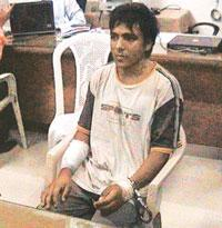 Trained killer: Ajmal Kasab, 21, the only terrorist to be caught alive in the 26/11 Mumbai attacks, gave accounts of training in camps in Muzaffarabad, capital of Pakistan-held Kashmir, and in Mansher
