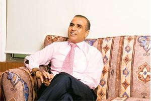 Fingers crossed: Bharti Airtel chairman Sunil Mittal. As part of the deal, Bharti shares would be listed on the Johannesburg Stock Exchange. On Indian bourses, the shares would be renamed Bharti-MTN.