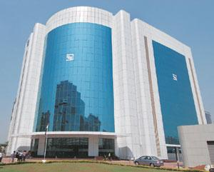 Tough call: The Sebi headquarters in Mumbai. The banking channel, introduced by Sebi for retail investors to subscribe to shares, has been slow to take off because of a conflict between banks and brok