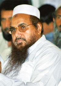 Wanted: A file photo of Hafiz Saeed in Islamabad. Reuters