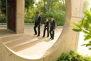 Limited impact: A file photo of Indian Institute of Management, Ahmedabad. One change that schools do see is the realization among students that some sectors, such as finance and investment banking, c