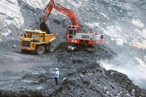 In demand: A file photo of an open cast coal mine in Godavarikhani, Andhra Pradesh. Domestic coal is priced around 30-40% cheaper than the international variety, depending on its quality. Noah Seelam