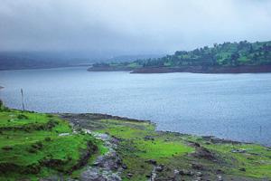 Rain-soaked: Bhandardara has the largest earthen dam in India, and the highest peak in Maharashtra.