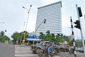 Restructuring plans: A file photo of Air India building in Mumbai. Abhijit Bhatlekar / Mint