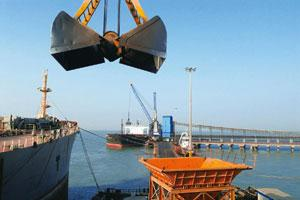 Getting it right: In a short span of eight years since starting operations, the Mundra port (above) handles more cargo in a year than at least three Union government ports—Tuticorin, Cochin and Ennore