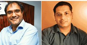 Betting right: Suvir Sujan (left) of Nexus India Capital, and Deepak Srinath of Viedea Capital Advisors.