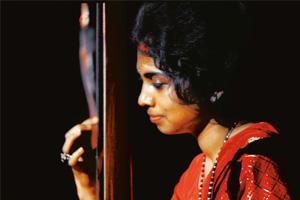 Striking a chord: A file photo of Maya Kulkarni with the tanpura. Barry Zlevine / Getty Images