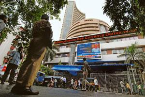 Monsoon worry: The Bombay Stock Exchange. The Sensex has recouped some of the 5.68% losses it incurred since the beginning of last week. Abhijit Bhatlekar / Mint