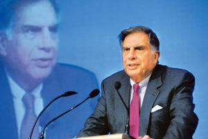 Man with a vision: Tata group chairman Ratan Tata.